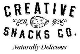 CREATIVE SNACKS CO. NATURALLY DELICIOUS Trademark of