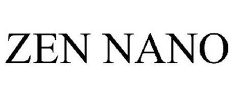 ZEN NANO Trademark of Creative Technology Ltd. Serial