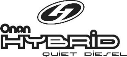 ONAN HYBRID QUIET DIESEL Trademark of Cummins Powergen IP