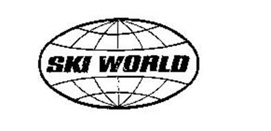 SKI WORLD Trademark of CUT'N JUMP SKI CORPORATION Serial