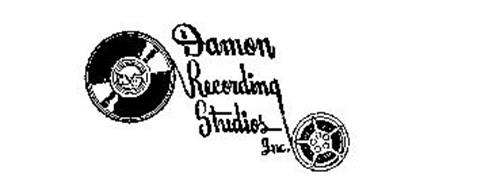 DAMON RECORDING STUDIOS INC. Trademark of DAMON RECORDING