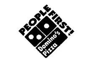 PEOPLE FIRST! DOMINO'S PIZZA Trademark of DOMINO'S IP