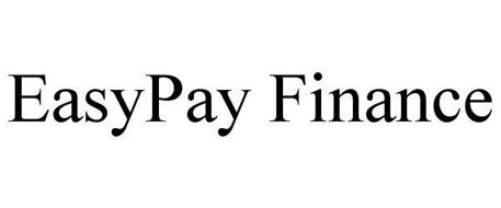 EASYPAY FINANCE Trademark of Duvera Billing Services, LLC