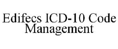 EDIFECS ICD-10 CODE MANAGEMENT Trademark of Edifecs, Inc