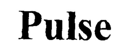 PULSE Trademark of Electronic Controls Company Serial