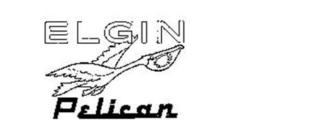 ELGIN PELICAN Trademark of Elgin Sweeper Company. Serial