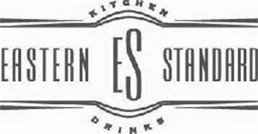 ES EASTERN STANDARD KITCHEN DRINKS Trademark of ESHL LLC