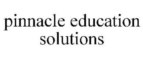 PINNACLE EDUCATION SOLUTIONS Trademark of Excelsior