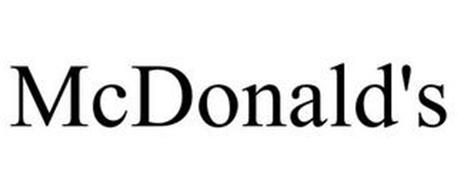 MCDONALD'S Trademark of FARIN, SALOMON ELI Serial Number
