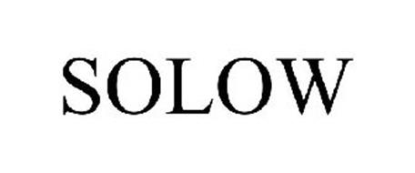 SOLOW Trademark of Fiori, LLC Serial Number: 85627591