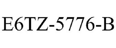 E6TZ-5776-B Trademark of Ford Motor Company Serial Number