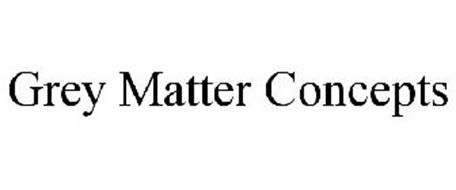 GREY MATTER CONCEPTS Trademark of Frenz Group Serial