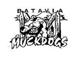 BATAVIA MUCKDOGS Trademark of Genesee County Baseball Club