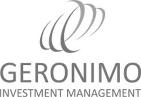 GERONIMO INVESTMENT MANAGEMENT Trademark of Geronimo