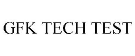 GFK TECH TEST Trademark of Gfk Custom Research LLC Serial
