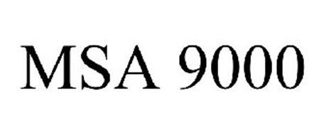 MSA 9000 Trademark of Global TV Concepts. Serial Number