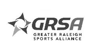 GRSA GREATER RALEIGH SPORTS ALLIANCE Trademark of Greater