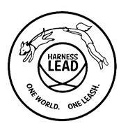 HARNESS LEAD ONE WORLD. ONE LEASH. Trademark of Harness