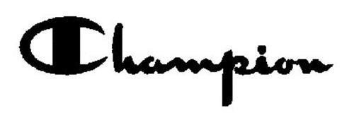 CHAMPION Trademark of HBI BRANDED APPAREL ENTERPRISES, LLC