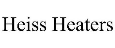 HEISS HEATERS Trademark of Heiss Enterprises LLC. Serial