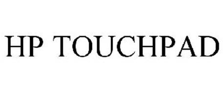 HP TOUCHPAD Trademark of HEWLETT-PACKARD DEVELOPMENT