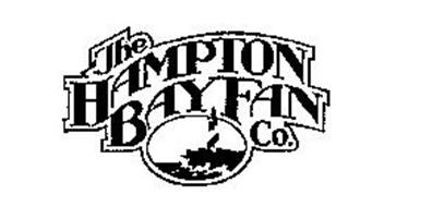 THE HAMPTON BAY FAN CO. Trademark of HOME DEPOT PRODUCT
