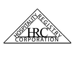 HOSPITALITY REGISTRY CORPORATION HRC Trademark of