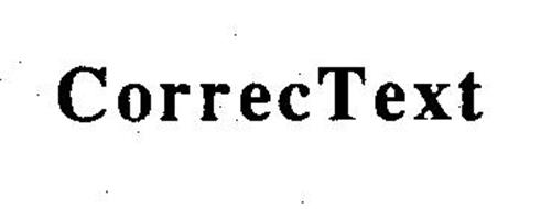 CORRECTEXT Trademark of Houghton Mifflin Company Serial