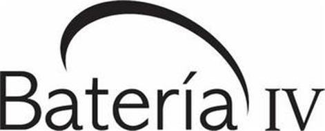 BATERIA IV Trademark of HOUGHTON MIFFLIN HARCOURT