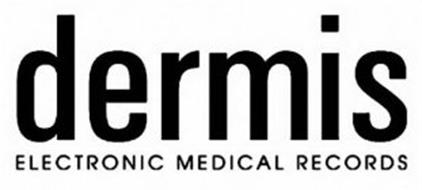 DERMIS ELECTRONIC MEDICAL RECORDS Trademark of HSI Service