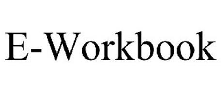 E-WORKBOOK Trademark of ID BUSINESS SOLUTIONS LIMITED