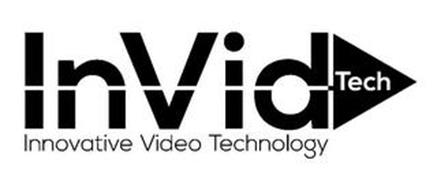 INVID TECH INNOVATIVE VIDEO TECHNOLOGY Trademark of