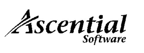 ASCENTIAL SOFTWARE Trademark of INTERNATIONAL BUSINESS