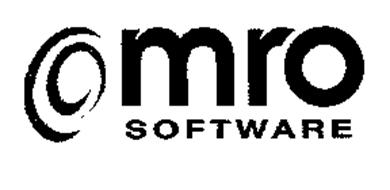 MRO SOFTWARE Trademark of INTERNATIONAL BUSINESS MACHINES