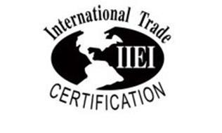 INTERNATIONAL TRADE CERTIFICATION IIEI Trademark of
