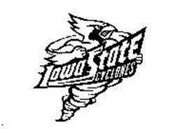 IOWA STATE CYCLONES Trademark of Iowa State University of