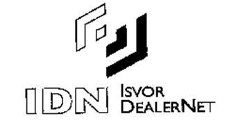 IDN ISVOR DEALERNET Trademark of ISVOR FIAT S.p.A. Societa