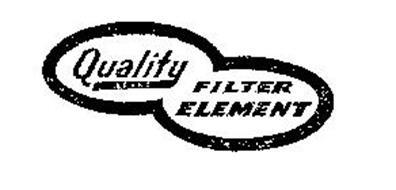 QUALITY BRAND FILTER ELEMENT Trademark of J. A. BALDWIN