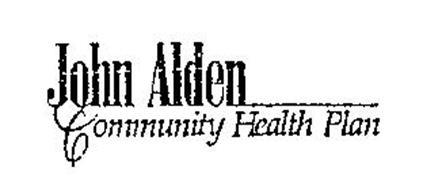 JOHN ALDEN COMMUNITY HEALTH PLAN Trademark of JOHN ALDEN