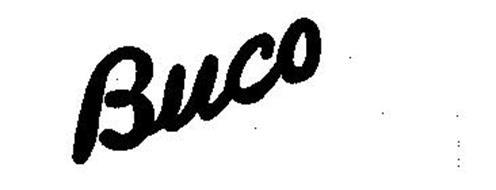 BUCO Trademark of JOSEPH BUEGELEISEN CO.. Serial Number