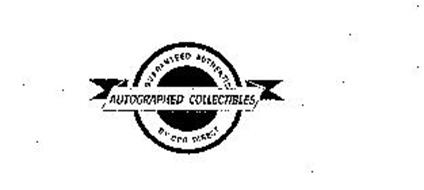 GUARANTEED AUTHENTIC AUTOGRAPHED COLLECTIBLES BY CPG