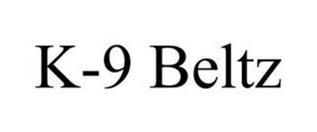 K-9 BELTZ Trademark of K9 Sports Serial Number: 87397260