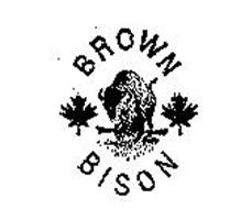 BROWN BISON Trademark of KALPAKIAN KNITTING MILLS INC