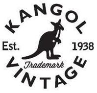 KANGOL VINTAGE EST. 1938 TRADEMARK Trademark of KANGOL