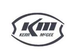 KM KERR MCGEE Trademark of KERR-MCGEE CORPORATION Serial