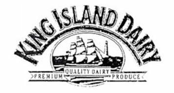 KING ISLAND DAIRY Trademark of King Island Company Ltd