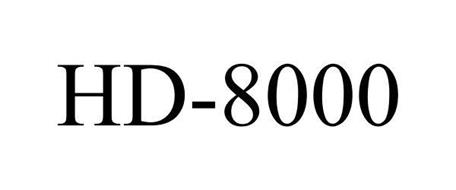 HD-8000 Trademark of LAVA Electronics Inc. Serial Number