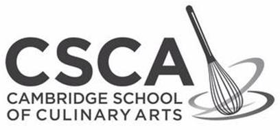 CSCA CAMBRIDGE SCHOOL OF CULINARY ARTS Trademark of