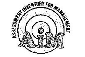 AIM ASSESSMENT INVENTORY FOR MANAGEMENT Trademark of LIMRA