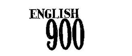 ENGLISH 900 Trademark of Macmillan, Inc. Serial Number
